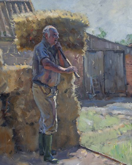 Unloading Bales by Kieron Williamson. Picture: Kieron Williamson/Picturecraft Gallery