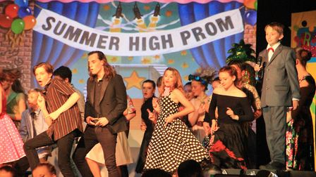 Reepham High School staged a production of Grease. Pictures supplied by Reepham High School