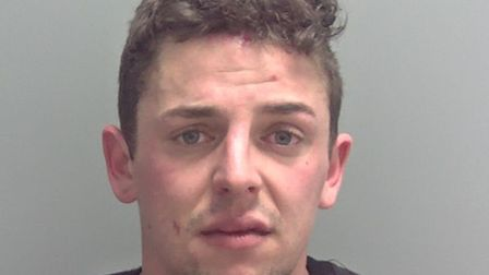 Emil Gray was jailed for 2 years 6 months for having prohibited weapon and two abh charges. Picture: