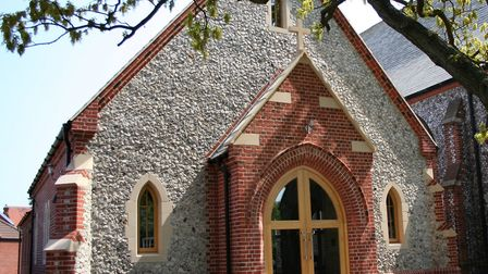 St Peter's Church parish hall, which was opened in 2006. Picture: KAREN BETHELL