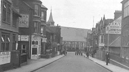 St Peter's Church, 1916. Picture: ST PETER'S CHURCH