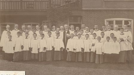 St Peter's Church choir, photographed in 1910. Picture: ST PETER'S CHURCH