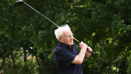 Harry Moorhouse still playing golf at Eaton Golf Club after celebrating his 100th birthday. Picture: