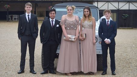 Scenes from the Fakenham Academy Prom 2017. Picture: Jackie Price.