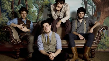 Mumford and Sons will perform the Saturday night headline slot. Photo: Contributed