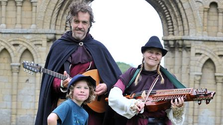 Castle Acre Priory is holding a Medieval Life and Laughter event. Picture: June Essex/English Herit
