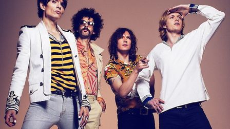 The Darkness who will be subject of a new documentary charting thier rise, fall and comeback. Pictur