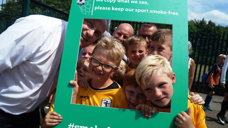 Fakenham Town Youth has become the first club in Norfolk to sign up to the Smoke Free Sidelines camp