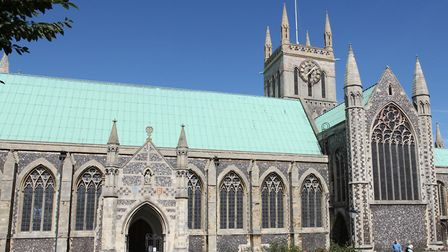Great Yarmouth Minster will feature in the project.