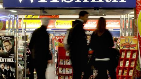WH Smith is looking to open a shop in Dereham. Picture: Anthony Devlin/PA Wire