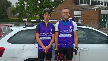 Alastair Barrows, 17, cycled 310 miles in 20 hours - without stopping - to raise funds for the Menin