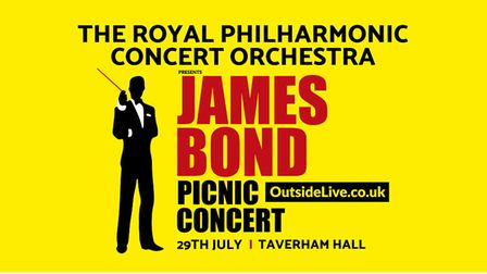 James Bond is coming to Taverham Hall on July 29 (Picture: Outside Live)