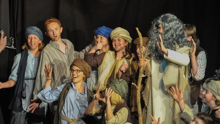 Norfolk Amateur Drama Society's production of Joseph and the Amazing Technicolored Dreamcoat feature