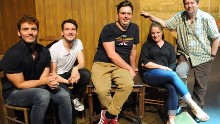 Former students from the Theatre Arts Course return to the Theatre Royal for cameo appearances in Th
