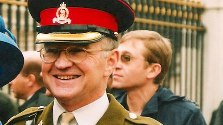 Christopher Davies MBE. Picture: Janette Davies