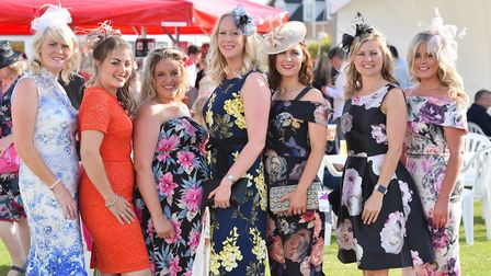 Ladies Night at Great Yarmouth Racecourse. July 2017. Picture: James Bass Photography