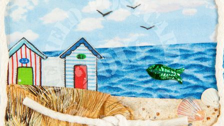 One of the postcards up for auction in Pakefield. Picture: Courtesy of Ferini Art Gallery.