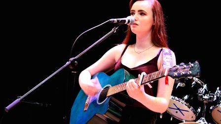 Kirsty Fletcher performing at the �Class of �17� end of year gig. Pictures: Ella-Rose Harrison-Reeve