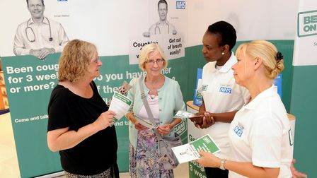 The Be Clear On Cancer Roadshow in action. Photo: Public Health England