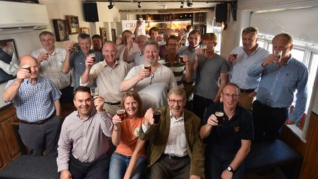 Norfolk farmers, maltsters and brewers gather at St Andrews Brew House to celebrate their contributi