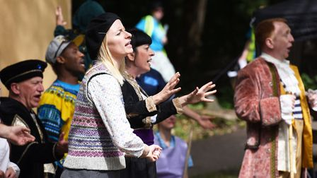 Community theatre show 'Come Yew In' performed at Ketts Heights, Norwich.Picture: Nick Butcher