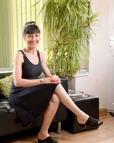 Sue Leeming,51, from Norwich has been Cancer free for 9 years. Picture: Nick Butcher