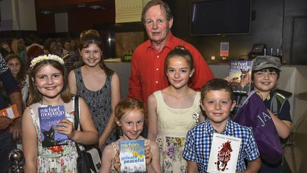 Young Norfolk Arts Festival 2017 - War Horse: Only Remembered with Michael Morpurgo is on July 2 at