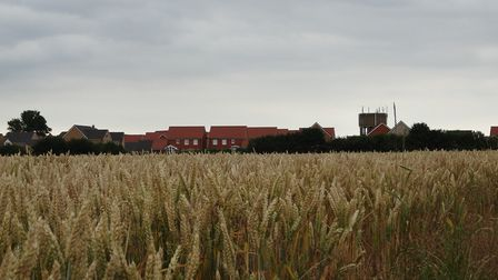 New developments are springing up in Hethersett. Photo: Archant