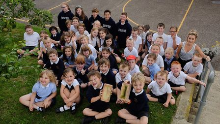 Harpley Primary School are trying to raise money for a new classroom. Picture: Ian Burt