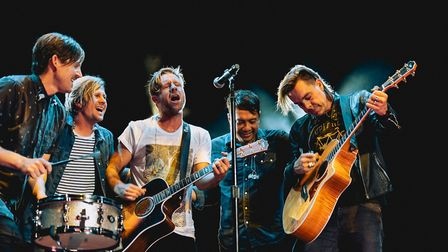 American band Switchfoot are going to play at The Nick Rayns LCR. Photo: Scott Diussa