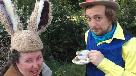 Strange Fascination will perform an open air Alice and Wonderland production at Gressenhall. Picture