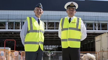 Chief Air Staff, Air Chief Marshal Sir Stephen Hillier, and the First Sea Lord, Admiral Sir Philip J
