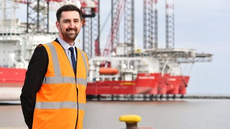 Richard Goffin port director for Peel Ports Great Yarmouth. Picture: James Bass