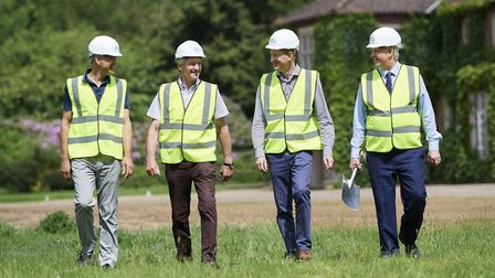 Work on the multi-million pound redevelopment of the former Weston Park golf course is now under way