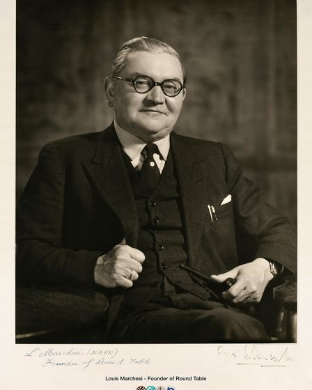 The signed photograph found by Mr Fulcher in Suckling Hall, now Cinema City. Photo: Des Fulcher