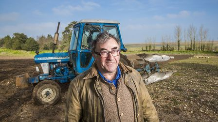 Desmond MacCarthy, the owner of Wiveton Hall, near Holt, who starred in the 2016 BBC2 Series 'Normal