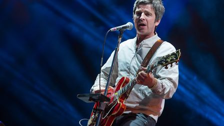 Noel Gallagher's High Flying Birds headlined the Obelisk Stage at Latitude 2015. Photo: Paul Bayfiel