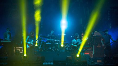 Foals at Latitude 2013. Photo: PJBayfield