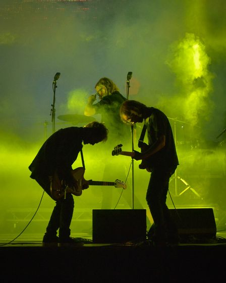 The National headlining the Obelisk stage at Latitude 2016. The band was also a headline act at Lati