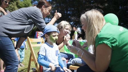 Norwich-based charity Care For Children organised a family fun day at Heigham Park in Norwich on Jul
