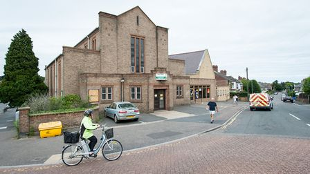 St Peter's methodist church and church halls on Park Lane in Norwich. Photo: Bill Smith