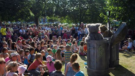 Crowds at a past Out There Festival. Picture Andi Sapey