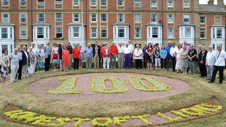 Lions Clubs International celebrate their centenary with an event in Lowestoft. The Lions gathered i