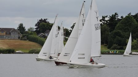 Action from Horning SC at the weekend. Picture: Holly Hancock