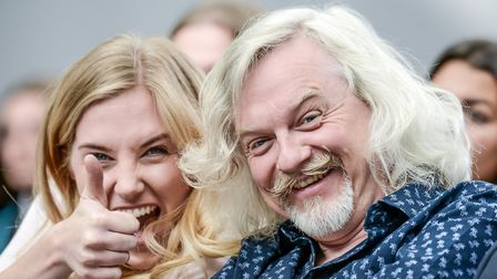 Maddie Moate and Marty Jopson. Picture: Simon Finlay Photography.