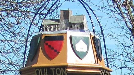 The Oulton sign