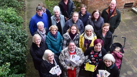 The Beccles Charter Weekend committee. Picture: Nick Butcher.