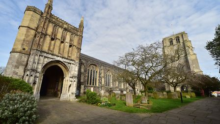 St Michael's Church in Beccles is one of the hubs for the weekend. Picture: Nick Butcher.