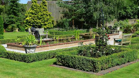 One of the gardens open at last year's Beccles Charter Weekend. Picture: Mick Howes.
