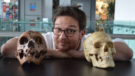 Evolutionary biologist and television presenter Ben Garrod, who is the main judge at this year's You
